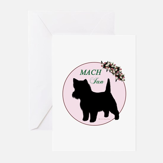 MACH Ian Pink Greeting Cards (Pk of 10)