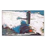 cavalla sticker Sticker (Rectangle 50 pk)
