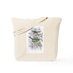 Blue Titmouse Bird Tote Bag