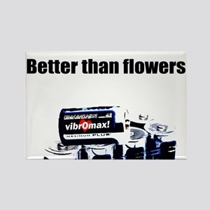 Better than Flowers Rectangle Magnet (100 pack)
