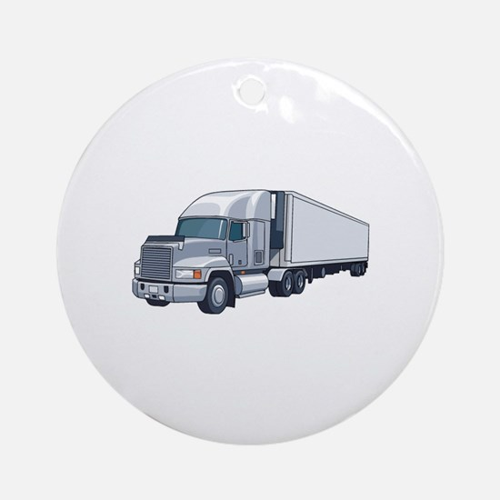 Car Ornament (Round)