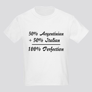 50% Italian +50% Argentinian Kids T-Shirt