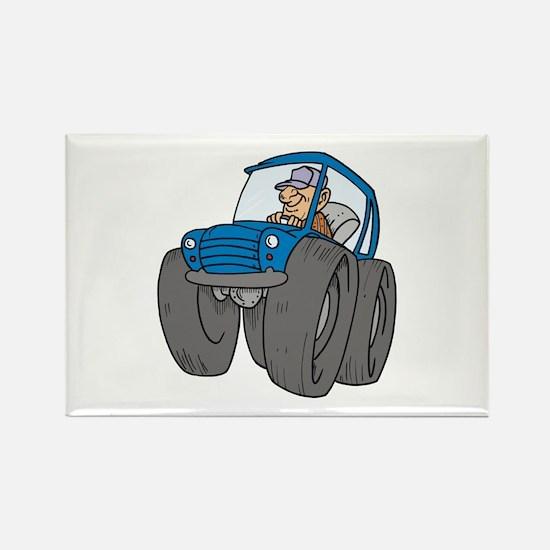 Car Rectangle Magnet