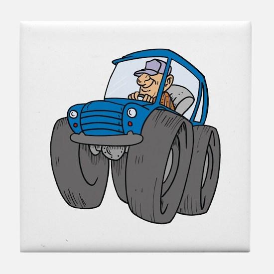 Car Tile Coaster