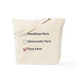 Political Parties Tote Bag