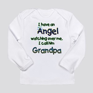 I HAVE AN ANGEL GRANDPA Long Sleeve Infant T-S