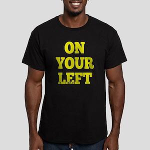 OYL_White Men's Fitted T-Shirt (dark)