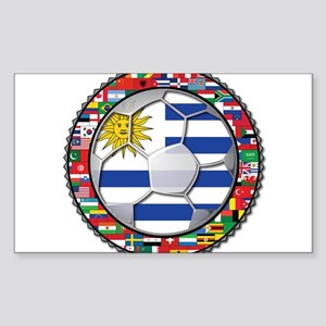Uruguay Flag World Cup Futbol Soccer Football Ball