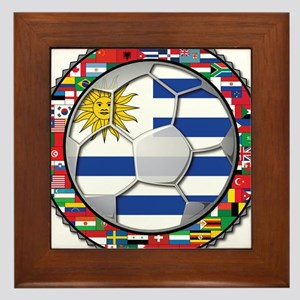 Uruguay Flag World Cup Futbol Soccer Football Ball