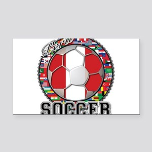 Peru Flag World Cup Soccer Ball with World Flags R