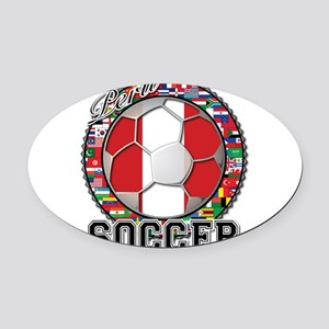 Peru Flag World Cup Soccer Ball with World Flags O