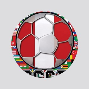 Peru Flag World Cup Soccer Ball with World Flags 3