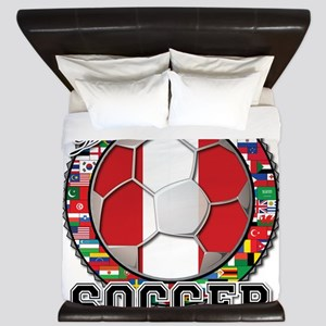 Peru Flag World Cup Soccer Ball with World Flags K