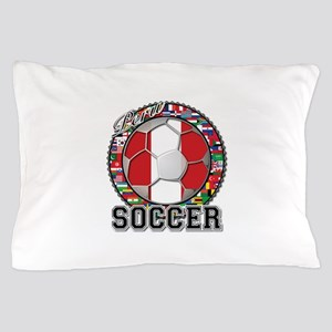 Peru Flag World Cup Soccer Ball with World Flags P