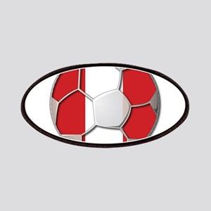 Peru Flag World Cup Futbol Soccer Football Ball Pa