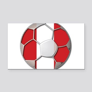 Peru Flag World Cup Futbol Soccer Football Ball Re