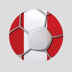 Peru Flag World Cup Futbol Soccer Football Ball 3.