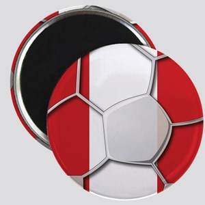 Peru Flag World Cup Futbol Soccer Football Ball Ma