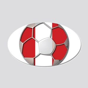 Peru Flag World Cup Futbol Soccer Football Ball 20