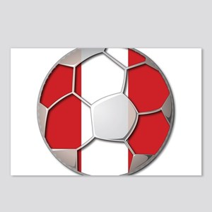 Peru Flag World Cup Futbol Soccer Football Ball Po