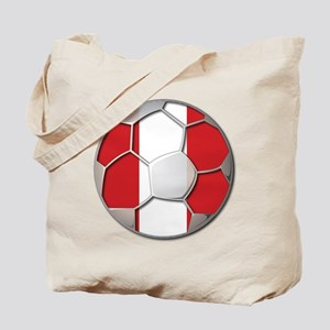 Peru Flag World Cup Futbol Soccer Football Ball To