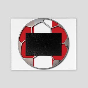 Peru Flag World Cup Futbol Soccer Football Ball Pi