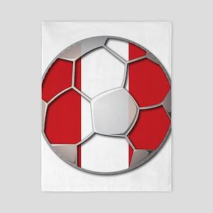 Peru Flag World Cup Futbol Soccer Football Ball Tw