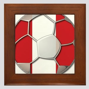 Peru Flag World Cup Futbol Soccer Football Ball Fr