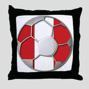 Peru Flag World Cup Futbol Soccer Football Ball Th