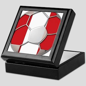 Peru Flag World Cup Futbol Soccer Football Ball Ke