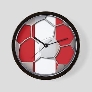 Peru Flag World Cup Futbol Soccer Football Ball Wa