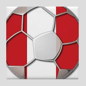 Peru Flag World Cup Futbol Soccer Football Ball Ti