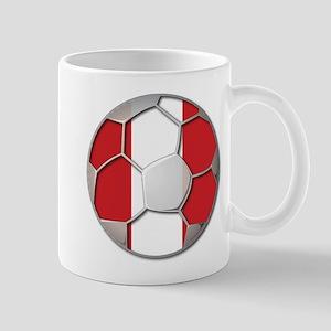 Peru Flag World Cup Futbol Soccer Football Ball Mu
