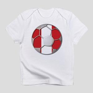 Peru Flag World Cup Futbol Soccer Football Ball In