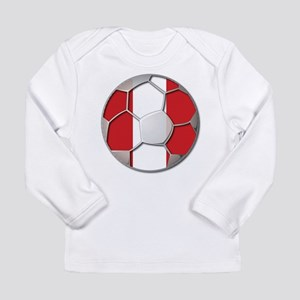 Peru Flag World Cup Futbol Soccer Football Ball Lo