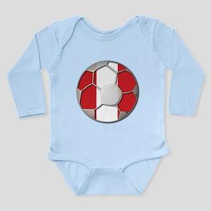 Peru Flag World Cup Futbol Soccer Football Ball Lo
