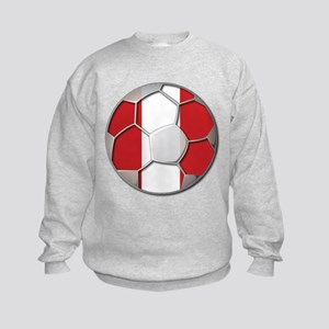Peru Flag World Cup Futbol Soccer Football Ball Ki