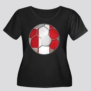 Peru Flag World Cup Futbol Soccer Football Ball Wo