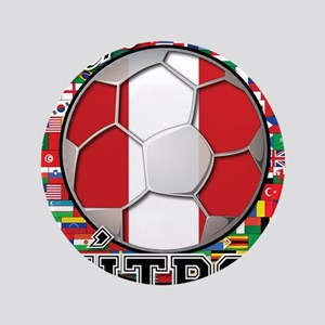 Peru Flag World Cup Futbol Ball with World Flags 3