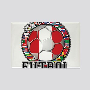 Peru Flag World Cup Futbol Ball with World Flags R