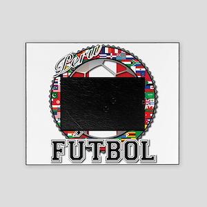 Peru Flag World Cup Futbol Ball with World Flags P