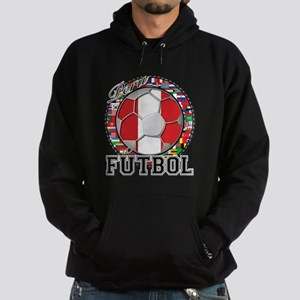 Peru Flag World Cup Futbol Ball with World Flags H