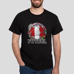 Peru Flag World Cup Futbol Ball with World Flags D