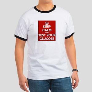Diabetes Keep Calm Ringer T