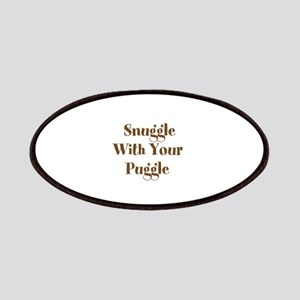 Snuggle With Your Puggle Patches