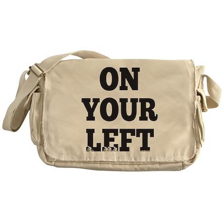 OYL_Black Messenger Bag