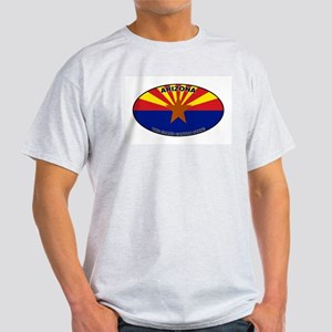 Arizona Flag Ash Grey T-Shirt