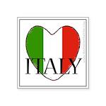 Italy Heart Sticker - Anthony Satori