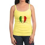 Italy - Women's Jr. Spaghetti Tank Top