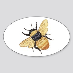 bumblebee Sticker (Oval)